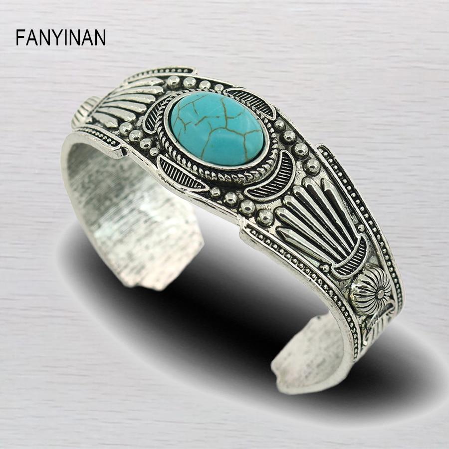 Fanyinan India Fashion Design Vintage Bohemia Stone Bracelets Bangles Women Jewelry Wholesale Holiday Gifts Bracelets Bangles Bangle Designerbangles Fashion Aliexpress