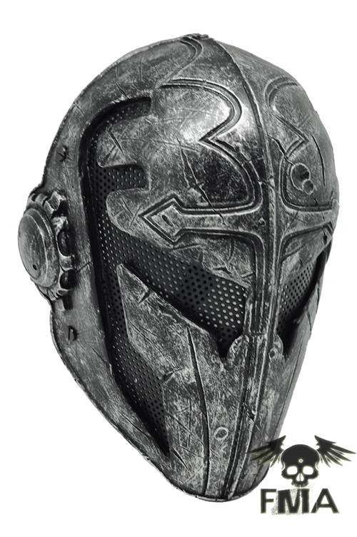 Paintball Airsoft Wire Mesh Templar Fabric Plastic Mask black TB562 war games gear helmet Free shipping