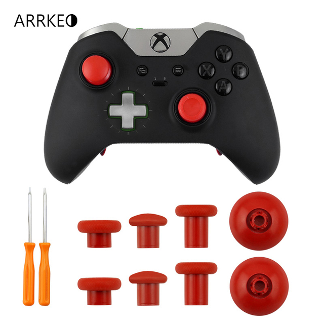 US $18 39 29% OFF|For Xbox One Elite Controller Custom Button Replacement  Swap Thumbstick Grip For PS4 DualShock 4 Controller With Storage Bag-in