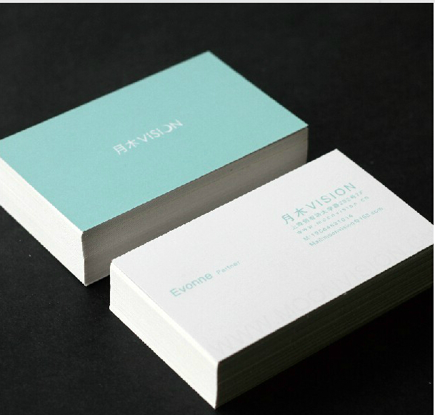 Free shipping 500pcslot 300gsm art paper business card 4 color free shipping 500pcslot 300gsm art paper business card 4 color offset printingbusiness card printing custom business cards in business cards from office reheart Image collections