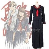 Majisuka Gakuen JK Furyo School Student Sailor Uniform Full Length Pleated Skirt