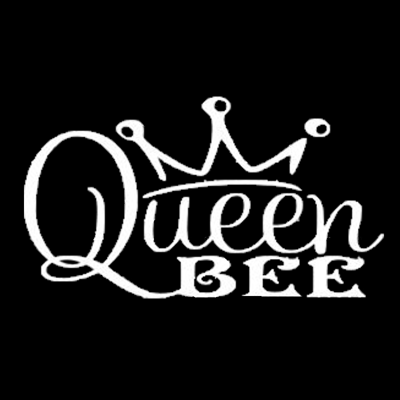Us 27 40 Offqueen Bee Funny Cute Family Princess Crown Mom Car Decal Window Vinyl Sticker Art Painting Car Stickers Vinyl Decor Decals In Car