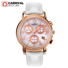 2017 Real Top Fashion The Carnival Carnival Watch Women's Inveted Stainless Steel Diamond Ladies Strap Quartz Waterproof Table
