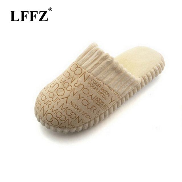 New Autumn and Winter Warm Men slippers Cotton-padded Lovers at house Family Home Slippers indoor shoes st216