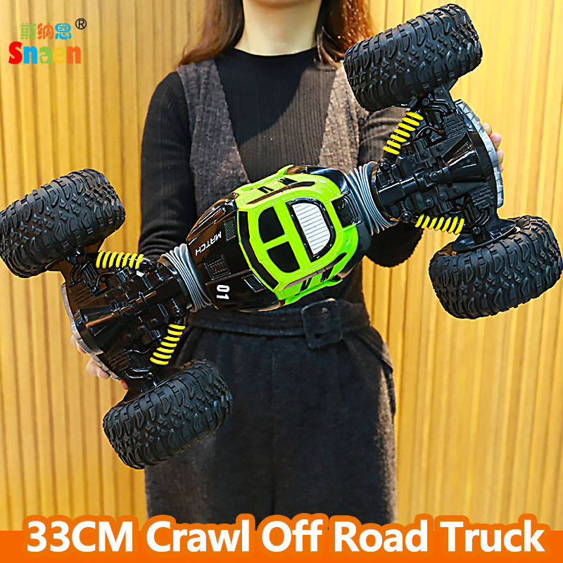 Snaen Remote Control Electric Crawl Off Road Truck High Speed Racing Climbing RC Car 2 4G