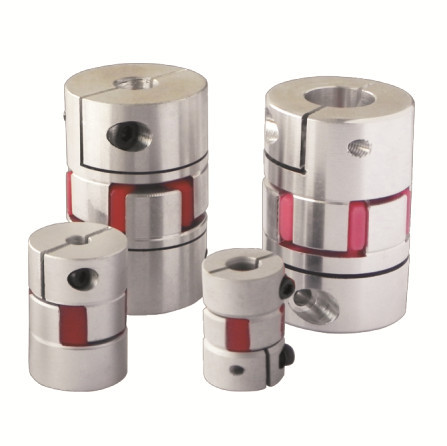 Aluminum Alloy Oldham Jaw Rotex Plum Slider Disc Cross Flexible Shaft Coupling Coupler with different size 2PCS in pack l45mm od56mm flexible double disc clampe coupling