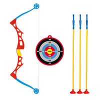 Funny Children's Bow and Arrow Toy Set Large Outdoor Indoor Sucker Shooting Parent child Interactive Toys Sports Gifts 1116