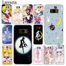 887c80f8fc0 Lavaza Bishoujo Pretty Soldier Sailor Moon MercuryHard Phone Case for Samsung  Galaxy S6 S7 Edge S8