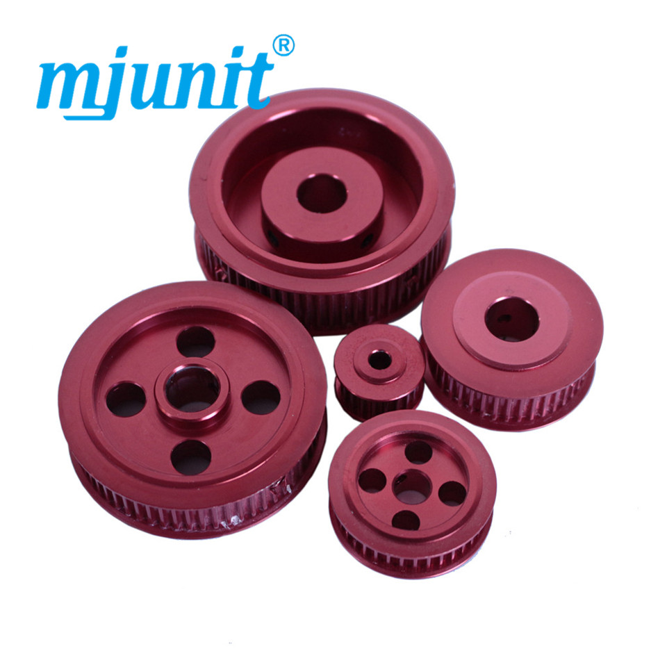 8mm Bore Aluminum Timing Pulley 3mm Pitch 24 Teeth 15mm Wide Belt Groove for 3D