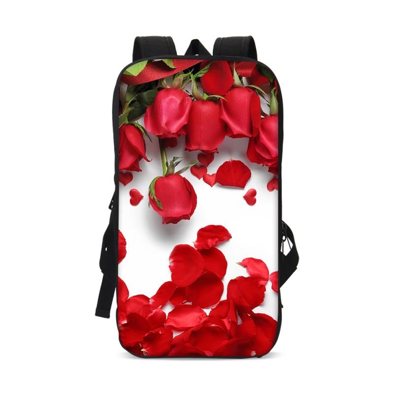 VEEVANV Casual Pattern Flower Cover 13 Inch Tablet Computer Bags Travel Ipad Backckpack Men Children Shockproof Tablet Pouch Bag