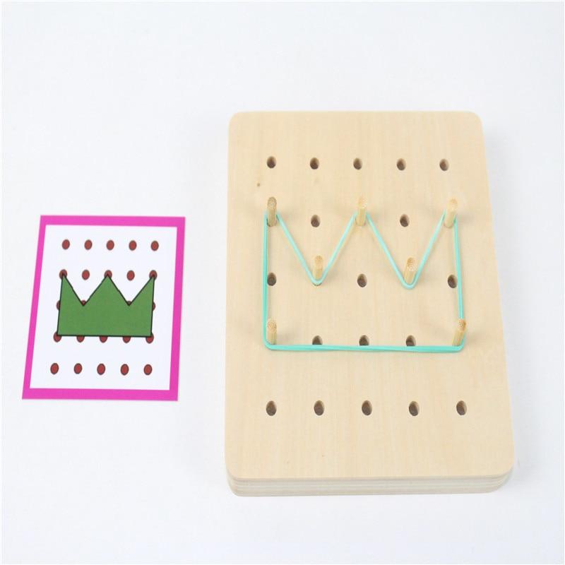 Brinquedos de Matemática montessori brinquedo do bebê gráficos Características : Educacional