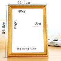 DIY Frame Painting By Numbers outer Frame 40x50cm Combination Unique Gift Wall Art Picture Artworks painting frame Home Decor