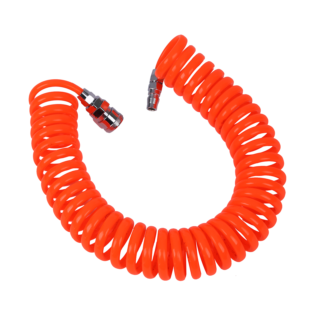 CNIM Hot 6M 19.7Ft 8mm x 5mm Flexible PU Recoil Hose Tube for Compressor Air Tool