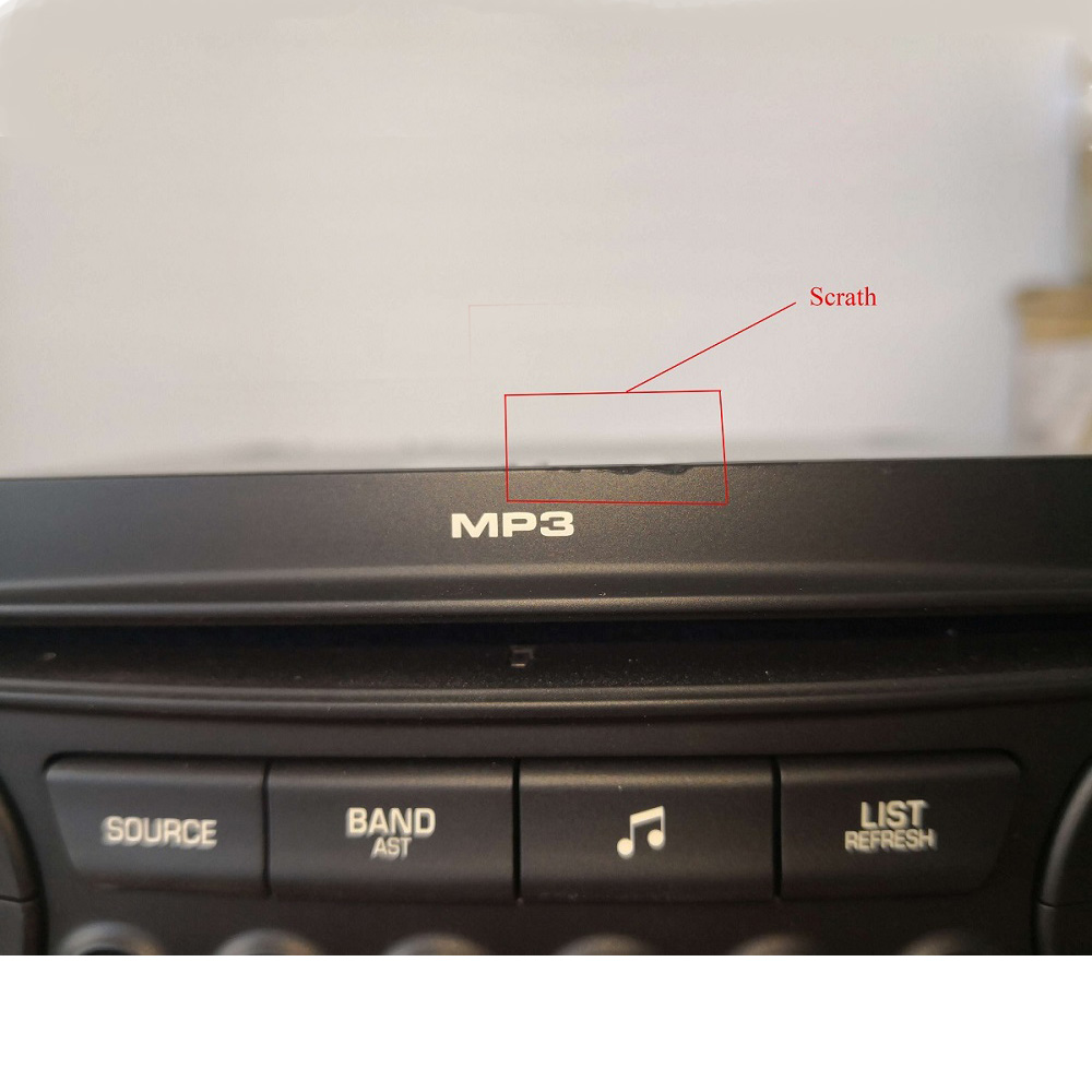 Scratch Original RD45 Car Radio 1din Auto CD Player USB Bluetooth MP3 Suitable 207 206 307 C3 C4 C5 Auto Audio