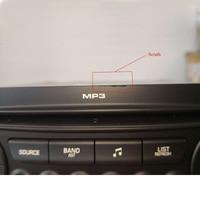 Scratch Original RD45 Car Radio 1din Auto CD Player USB Bluetooth MP3 Suitable 207 206 307 C3 C4 C5 Auto audio