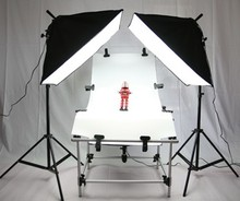 Photo Shooting Table Softbox Kit Photographic Equipment still life table lamp luxury set 50* 130CM camera table kit  CD50