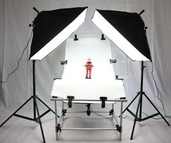 Still Life Tavolo.Us 199 5 50 Di Sconto Photo Shooting Kit Softbox Attrezzature Fotografiche Still Life Tavolo Lampada Da Tavolo Di Lusso Set 50 130 Cm Tavolo