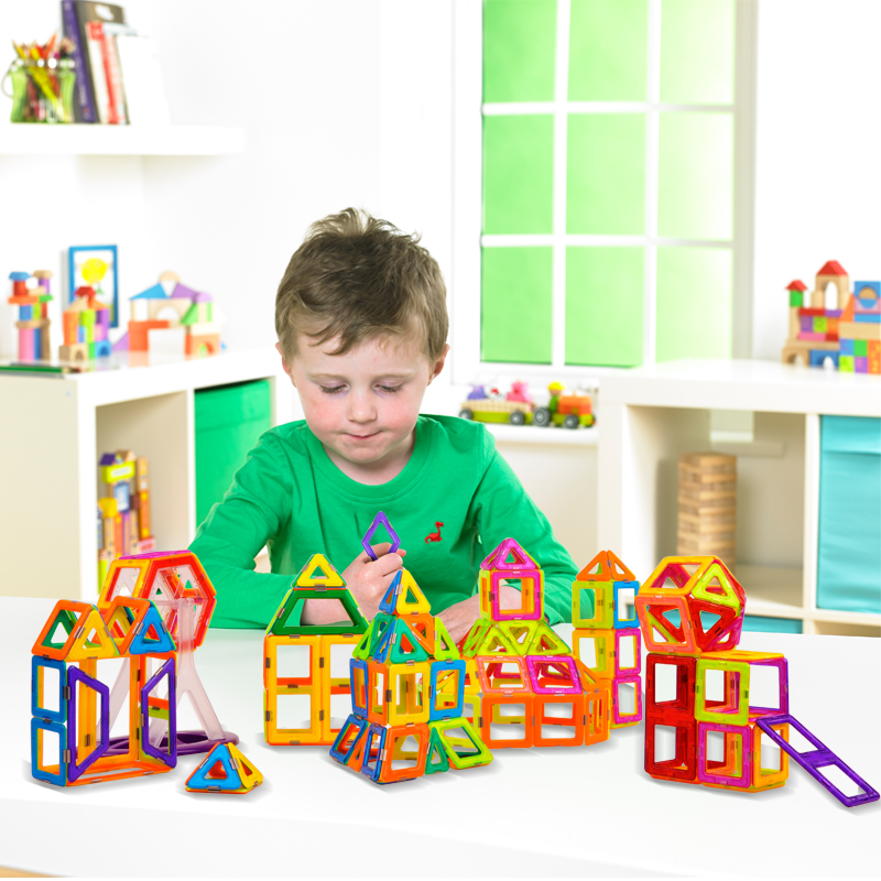 Sale Mini Magnetic Designer Building Blocks Kids Toys Magnet Game
