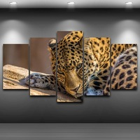 Artistic Print Painting On Canvas HD Printed Home Decor Framed Wall Art Pictures Spray Oil Painting