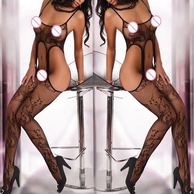 Sexy Lingerie Plus Size Women Sexy Costumes Lingerie Porno Erotic Langerie Sexy Underwear Lenceria Femenina Transparent 124WY