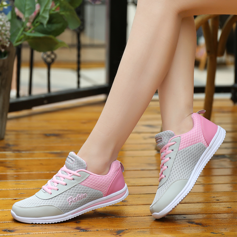 Casual Shoes Women Super Light Sneaker Female Platform Sneakers