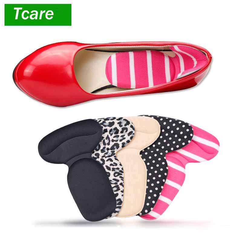 1Pair Foot Care Shoe Pads High Heel Shoe Cushion Insole Inserts Pads, Heel Grips Back Liner Shoe Boot Cushion