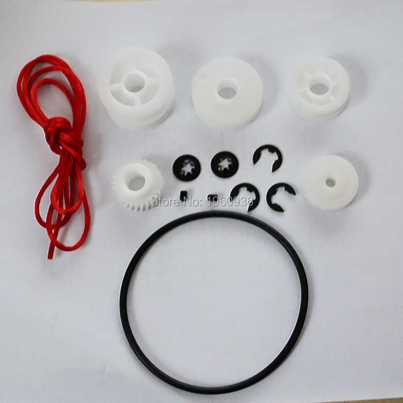 Artiglio Macchina del Gioco Della Gru Accessori Gantry Parti Puleggia, corda rossa, vite, anello di sicurezza, gear, cintura...