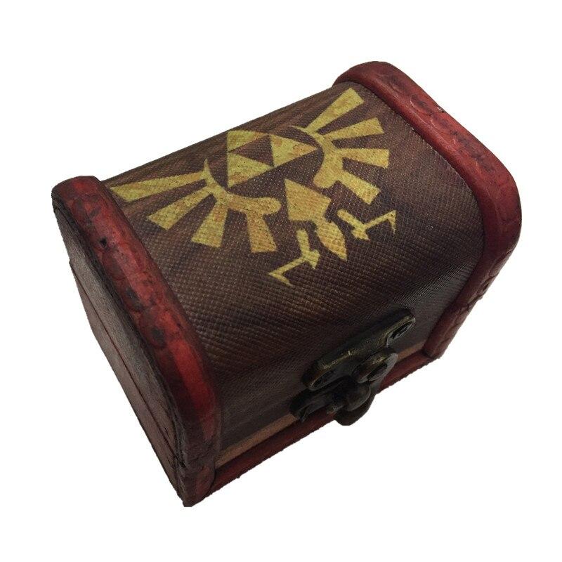 Anime Zelda Undertale Sans Gravity Falls RWBY printing wooden gift box 6*8 cm