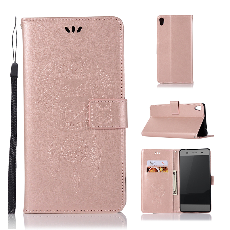 For Cover Sony Xperia XA Ultra Case Dreamcatcher Leather Flip Case for Sony Xperia C6 Wallet Cover For Sony XA Ultra Phone Case