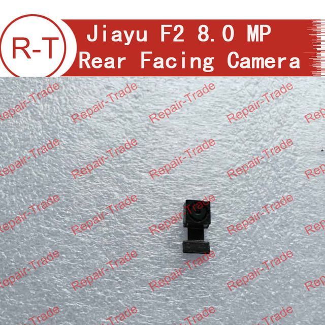 100% original jiayu F2 8.0MP Rear Back Camera Module Flex Cable Replacement for jiayu F2 Mobile Cell Phone Free shipping