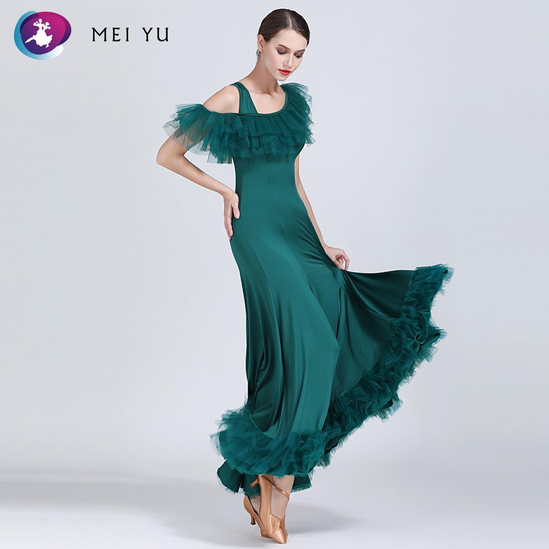Beminnelijk Mei Yu 1853 Moderne Dans Kostuum Vrouwen Dames Dancewear Waltzing Tango Dansen Jurk Ballroom Kostuum Avond Party Dress Gunstig Voor EssentiëLe Medulla
