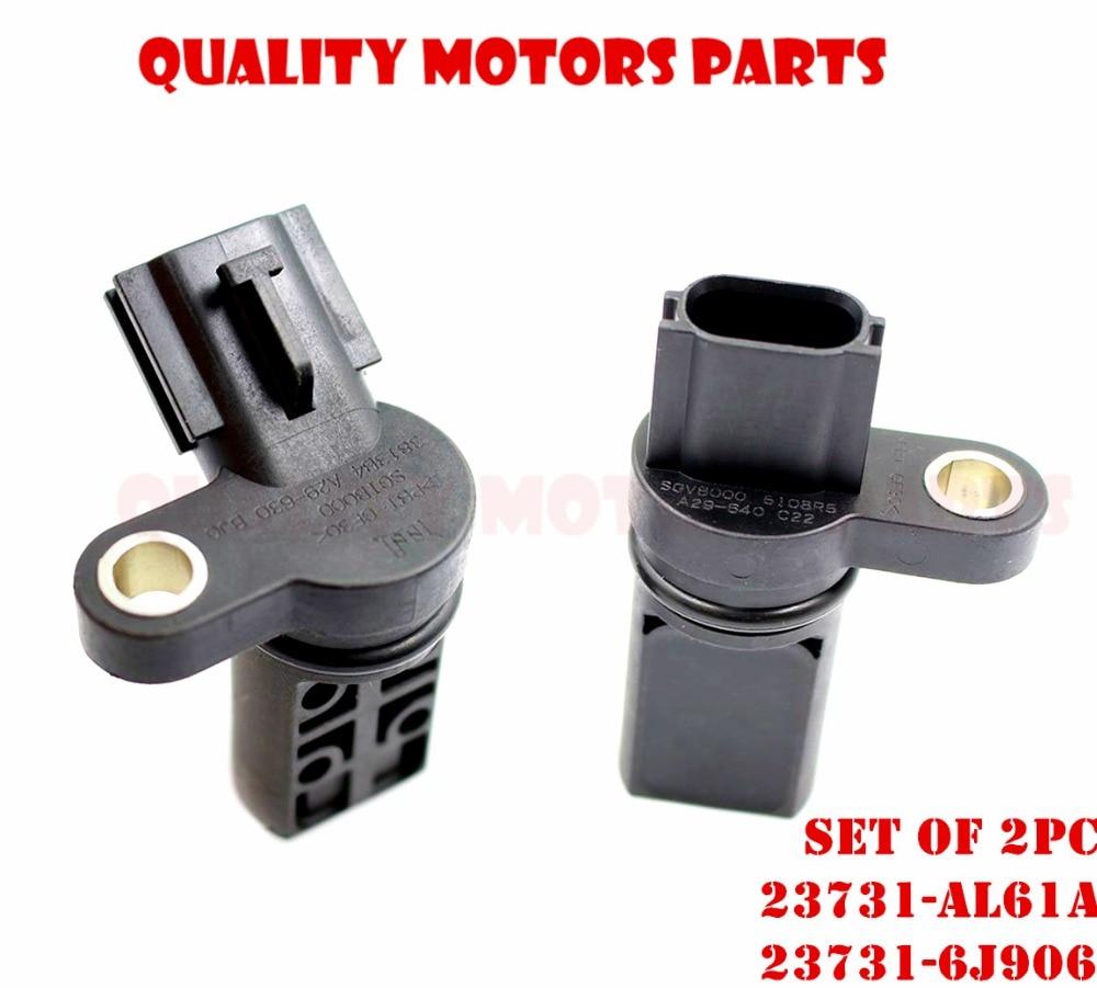 Camshaft Crankshaft Position Sensors Left /& Right For Nissan Infiniti FX35 G35