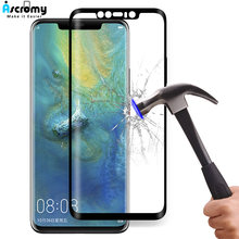 Ascromy 3D Curved Full Coverage Tempered Glass Protective Film For Huawei Mate 20 Pro Mate20 Lite Verre Trempe Screen Portector(China)