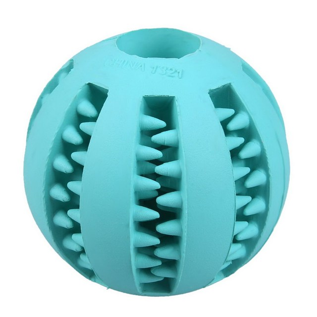 5/7 cm Dog Toy Interactive Rubber Balls Pet Dog Cat Puppy ElasticityTeeth Ball Dog Chew Toys Tooth Cleaning Balls Toys For Dogs 2