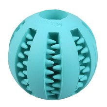 Interactive Dog Toy Rubber Balls