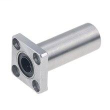 LMK10LUU LMK12LUU 4 pièces/lot, type plus long, 10mm 12mm, roulement linéaire à bride, CNC, douille linéaire, roulement à billes