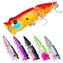 Купить с кэшбэком Fishing Lure 8.5CM 11.5G Minnow Crankbait Fishing Lure Laser Hard Artificial Bait 3D Eyes Fishing Wobblers