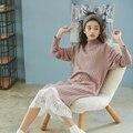 New Women long sweater dress 2017 spring casual Dresses Elastic Skinny Dress Brief Knitted Dress vestidos Turtleneck outwear