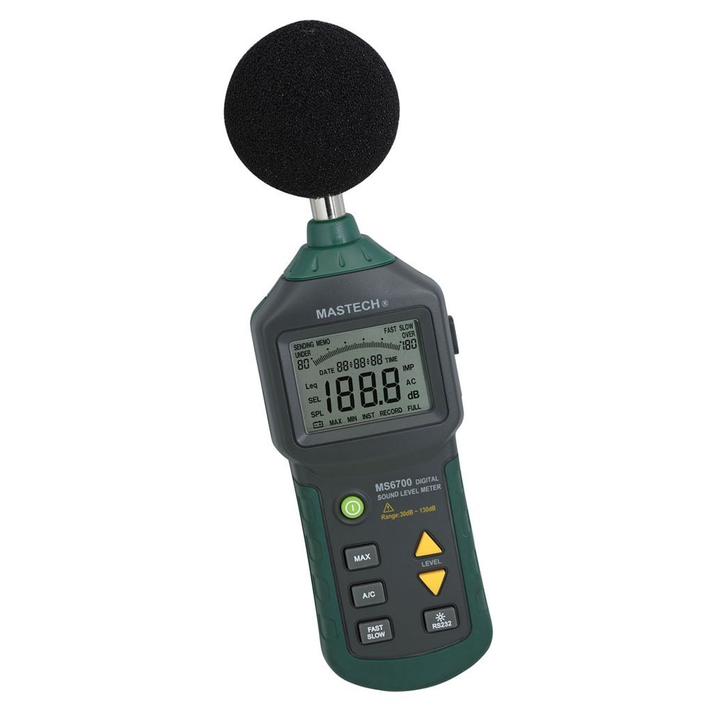 ФОТО CNIM Hot MASTECH MS6700 Auto Range Digital Sound Level Meter Tester