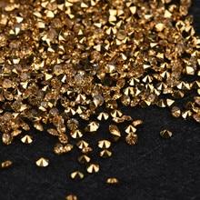 ISHOWTIENDA 1000 шт DIY Алмазный чехол для телефона, стол конфетти, Золотой Кристалл, вечерние аксессуары, праздничные украшения «сделай сам»