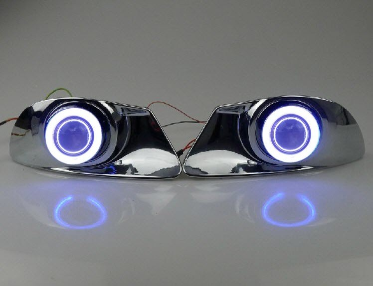Toyota Verso Nebelscheinwerfer Versammlung Angel Auge Tagfahrlicht Lampen (2)
