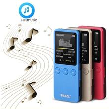 """Falante de 1.8 """"8 GB MP4 Player Slim Vídeo Rádio FM Player Para 64 GB Cartão Micro SD TF Música tempo de jogo 200 horas RUIZU X08"""