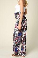 pantalon ethnique grossesse sarouel ethnique original 3en1 maternité maternity pants
