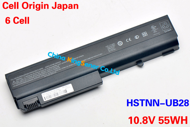 ФОТО 10.8V 55WH Original New Laptop Battery for HP NX6120 NX6130 NX6110 NX6220 NX6300 NX6325 NX6710 NC6120 6715 HSTNN-DB28 HSTNN-IB28