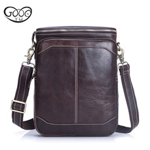 New mens high-grade first-class cowhide shoulder bag fashion exquisite messenger practical beautiful retro style small bac