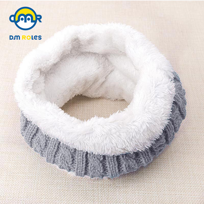 Hearty New Style Unisex Winter For Women Men Kids Baby Knitted Fashion Scarf Thickened Wool Collar Scarves Boys Girls Cotton Neck Scarf Cheap Sales Girl's Scarves