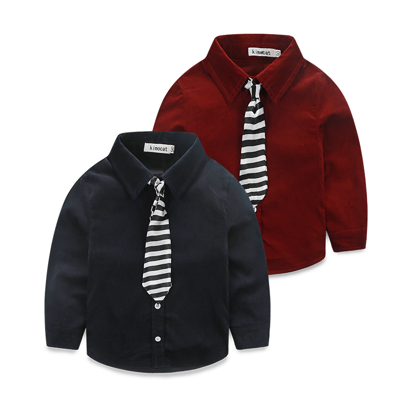 Fashion New Baby Boy Suits Formal Gentleman Long Sleeve Shirt+Pants Wedding Birthday Outfits Sets Baby Boys Costume Clothing Set nnw baby boy gentleman clothing 2pcs sets kids party clothes for birthday suits long sleeve vest shirt jeans denims pants