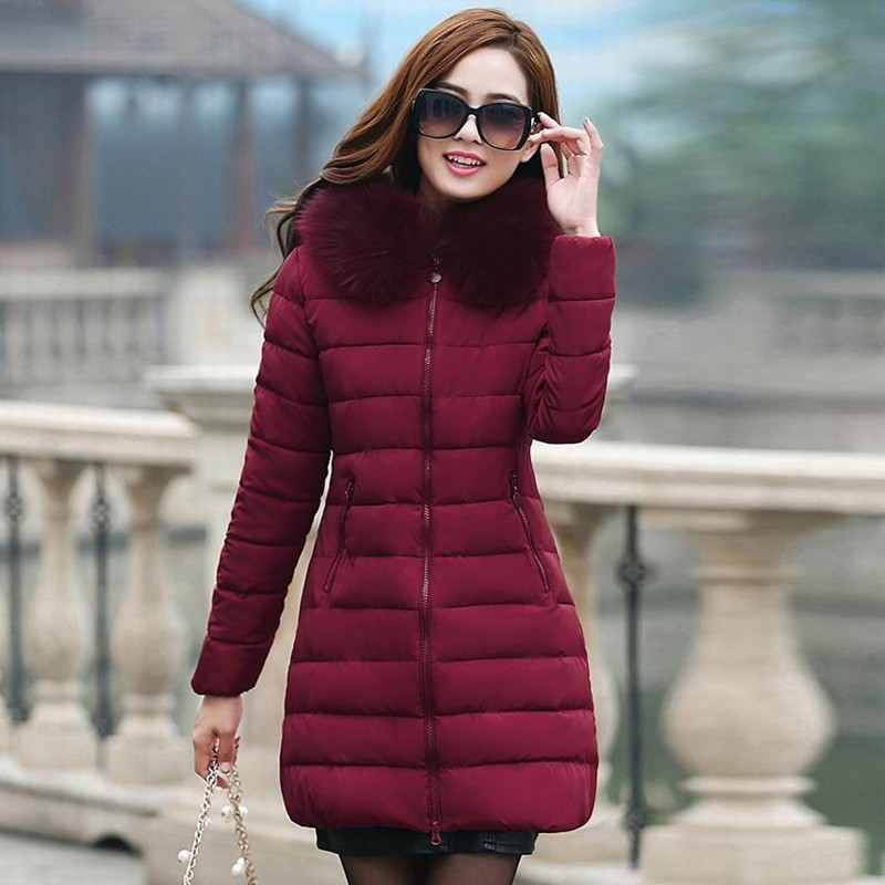 women winter coats women winter jacket women Womens Winter Jackets And Coats 2016 Thick Warm Hooded Down Cotton Padded Parkas For Women's Winter Jacket Female Manteau Femme (9)