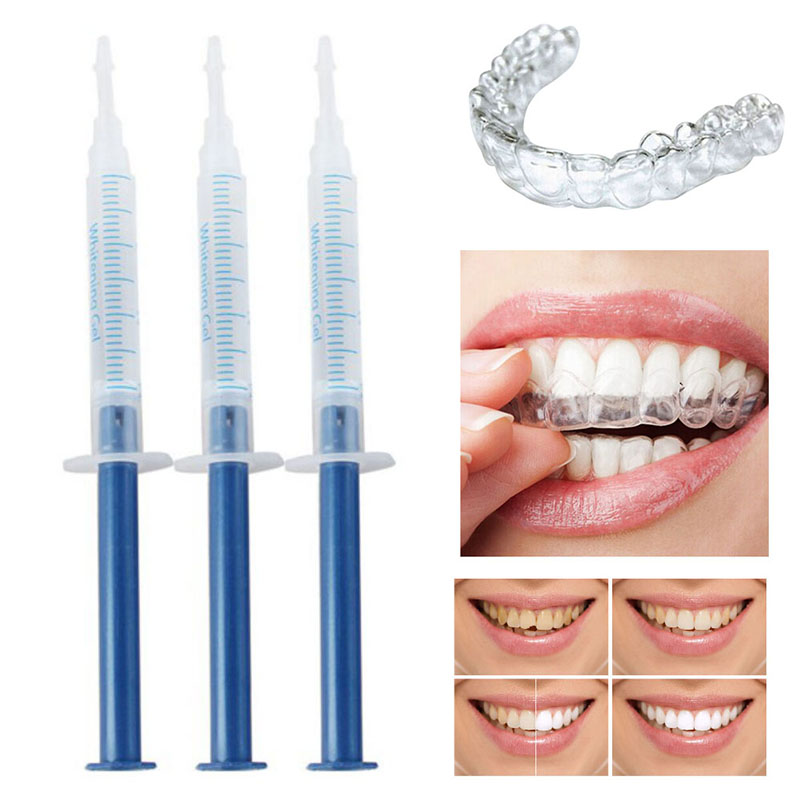 Dental Teeth Whitening Kit Bleaching Teeth Tooth Whitening Whitener Care Oral Hygiene With 44% Carbamide Peroxide