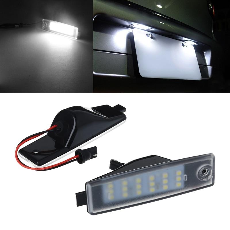 LED Number License Plate Lamp Light For Lexus RX300 Harrier Highlander Hiace RAV